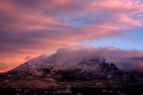 snow clouds sunrise nikon view cloudy 26 balcony mount timpanogos d100 february 2007 my