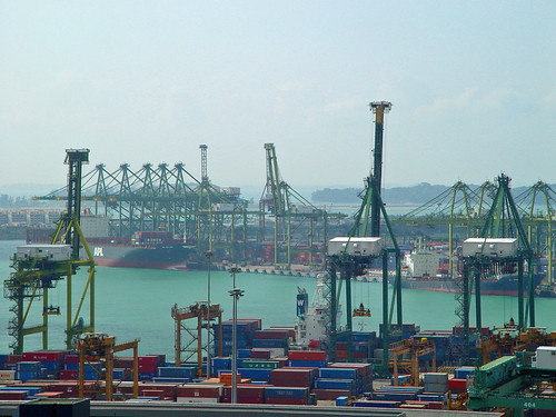 Port of Singapore - makes little old Halifax look like not much | by Peter Garnhum