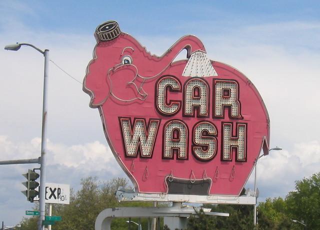 Pink Elephant Car Wash