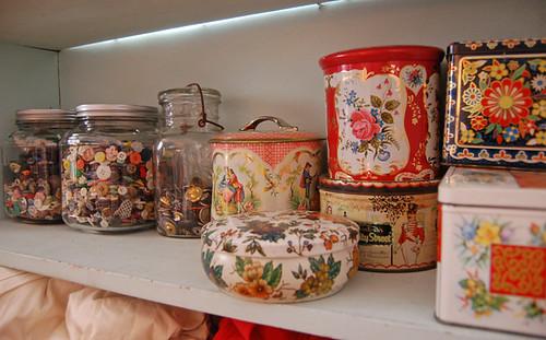 studio shelf   by SouleMama