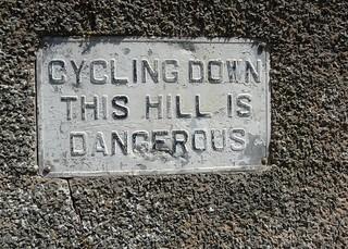 Cycling Down This Hill is Dangerous (Llandudno)