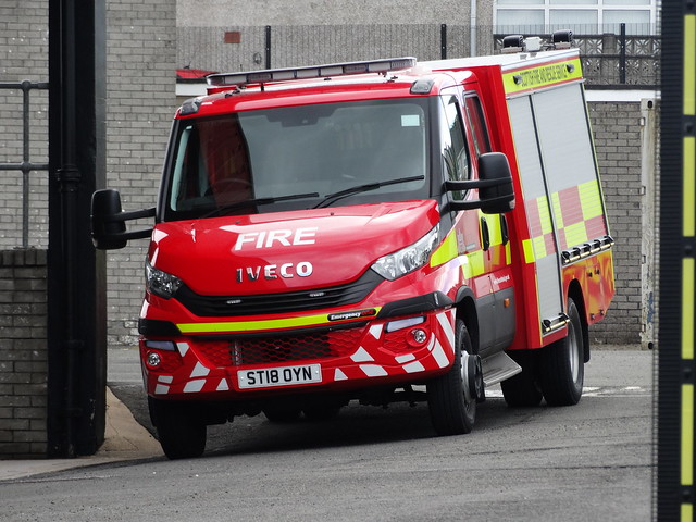 ST18 OYN Scottish Fire and Rescue Service