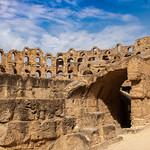 El Jem amphitheatre, Tunesia, 20120906