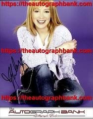 Hilary Duff authentic signed memorabilia | https://ift.tt/2kYhiwh