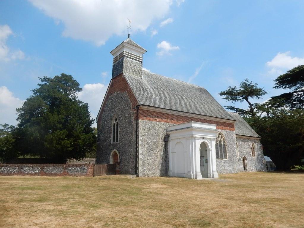 Lullingstone church Shoreham figure of 8