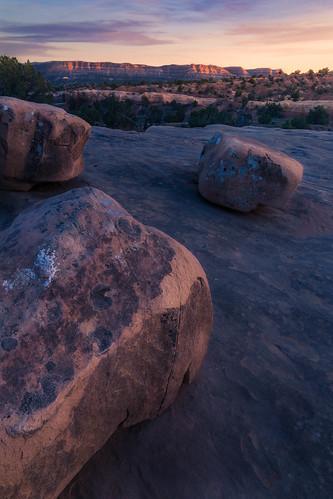 grandstaircaseescalante sunset utah rugged clearskies escalante desert devilsgarden