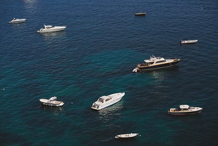 Yachts and Boats on the Amalfi Coast | by nan palmero