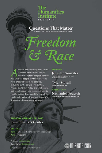 """Questions That Matter: """"Freedom and Race"""" 1.30.18"""