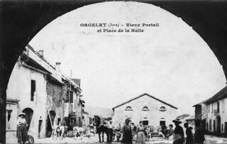 Le vieux portail d'Orgelet