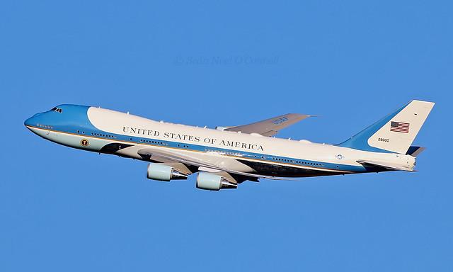 92-9000 - Boeing 747-2G4B (VC-25A) - STN