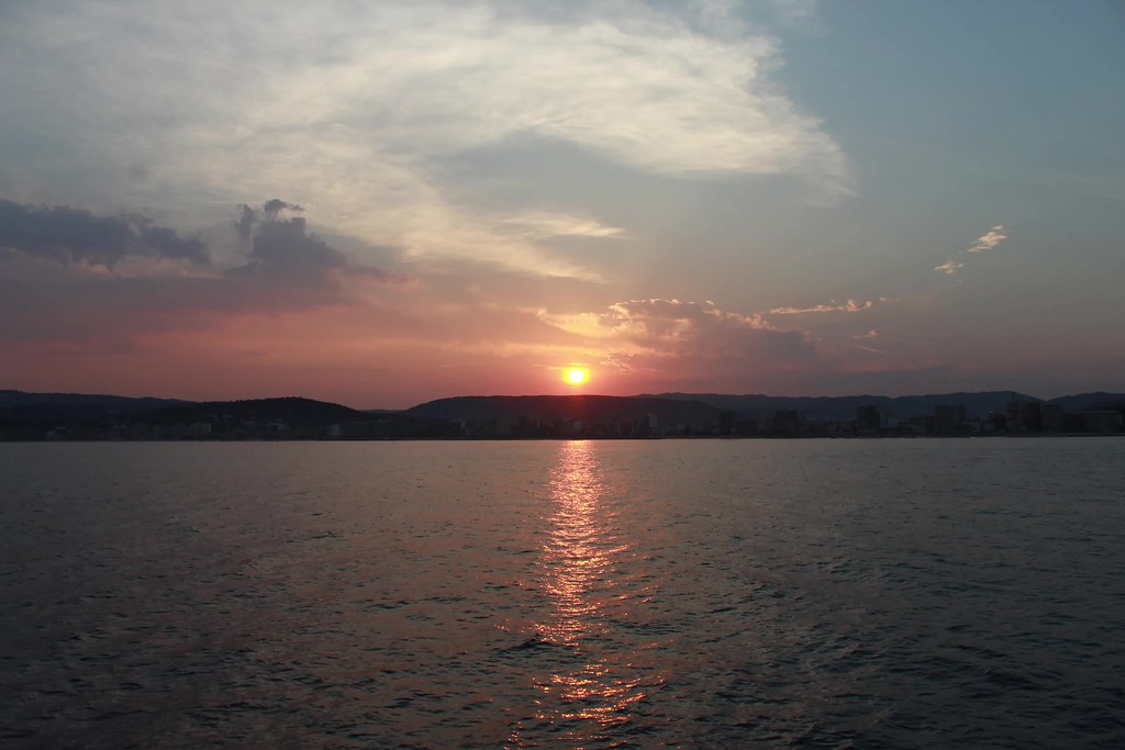 Sunset at Palamós