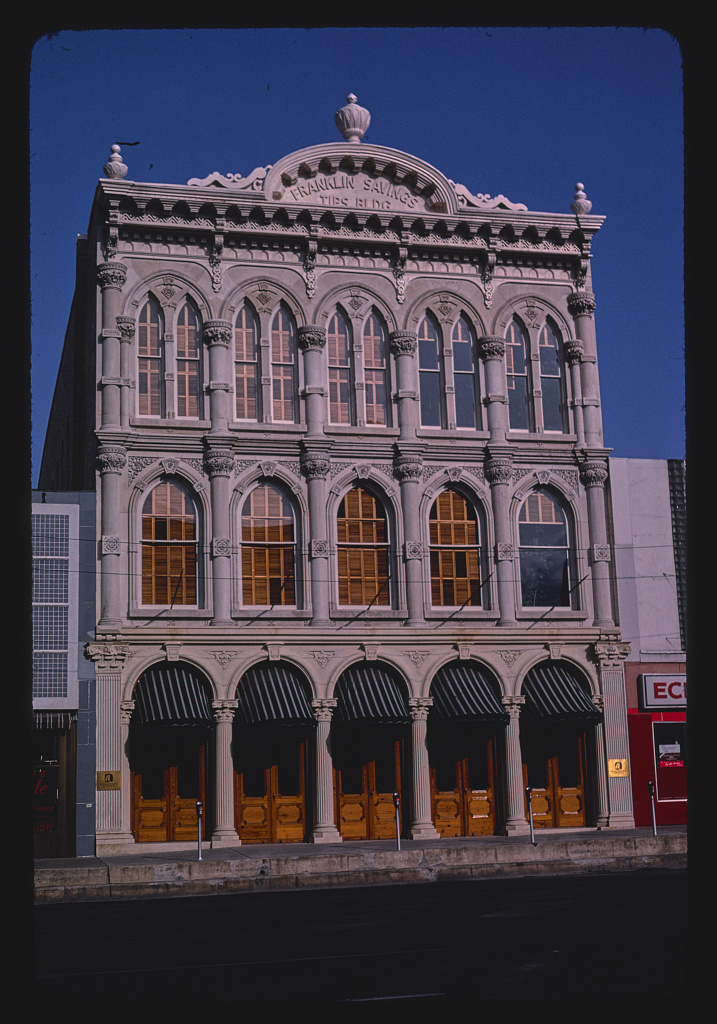 Franklin Savings Tips Building, South Congress Street, Austin, Texas (LOC)