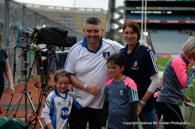 Monaghan Fans at Croke Park All Ireland Semi Finals 2018