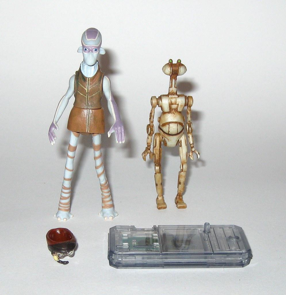 Star Wars EP1 Ody Mandrell w// OTOGA 222 PIT DROID NIB CommTech 3 3//4 tpm