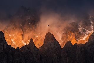 Ala-Archa Kyrgyzstan Inferno   by albert dros
