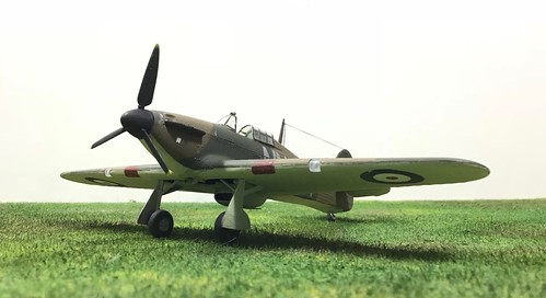 Airfix 1/72nd Hawker Hurricane | by Snaptophobic