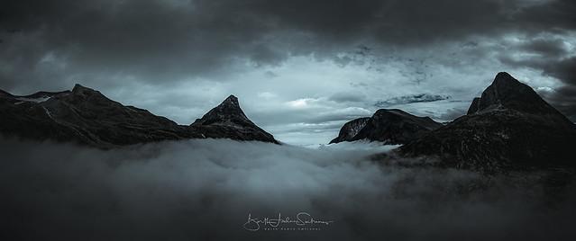 Low mist at Trollstigen