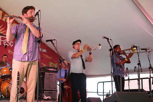 Dukes of Dixieland at Satchmo SummerFest - Aug. 5, 2018. Photo by Bill Sasser.