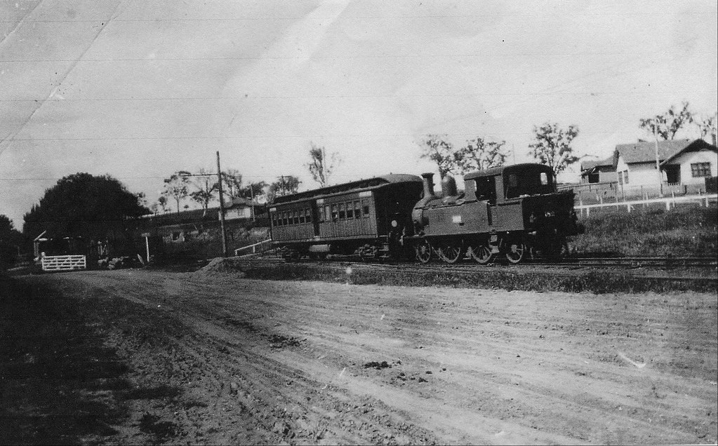 Last train on Outer Circle railway, 1895