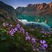 Ala-Kul Lake Kyrgyzstan by albert dros