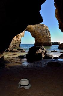 Praia de Albandeira, Portugal