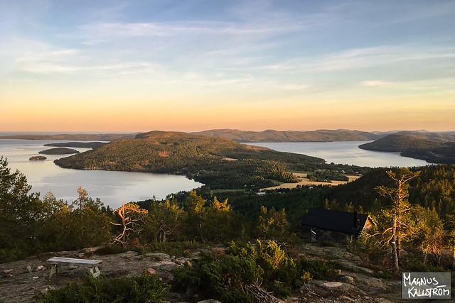 Höga kusten från Skuleberget