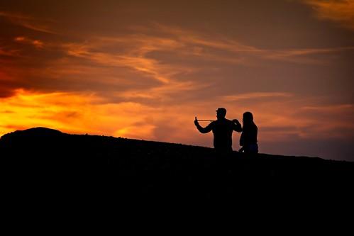 A Sunset Selfie | by garryknight