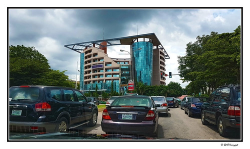 harrypwt abuja nigeria street building samsungs7 s7 borders framed city road landscape cars