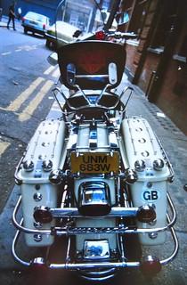 Shovelhead Electra Glide, Camden Town, London | by Trevor Lawrence Photos Northern Ireland