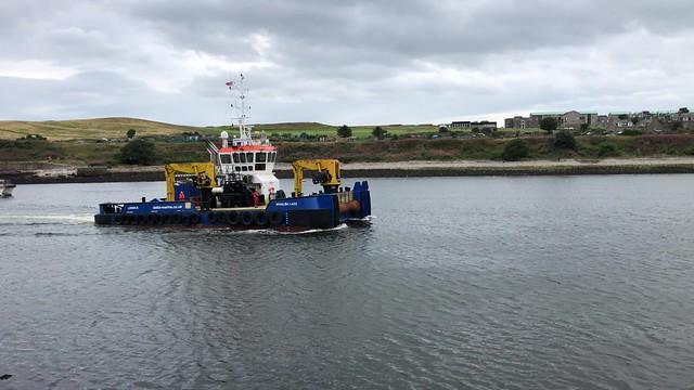 Whalsa Lass - Aberdeen Harbour Scotland - 17/8/18