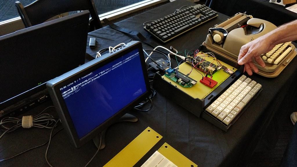 CP/M Homebrew Lisp Machine Z80 50MHz   VCF 2018   leighklotz