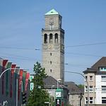 Der Rathausturm in Mülheim