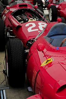 Red heaven. Ferrari and Maserati