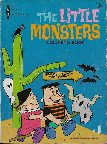 The Little Monsters Coloring Book ( Watkins-Strathmore 1966 ) | by Donald Deveau
