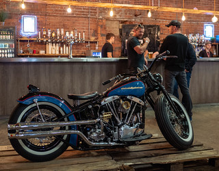 1953 Harley-Davidson Pan-Shovel by Holme Valley Customs   by Mike Turner