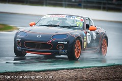 No.77 Mk3 Mazda MX-5 BRSCC MX-5 Super Series Silverstone July 2018 Sportscar Racing News