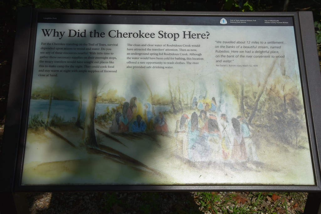 Trail of Tears Memorial / Laughlin Park | Located on Route 6