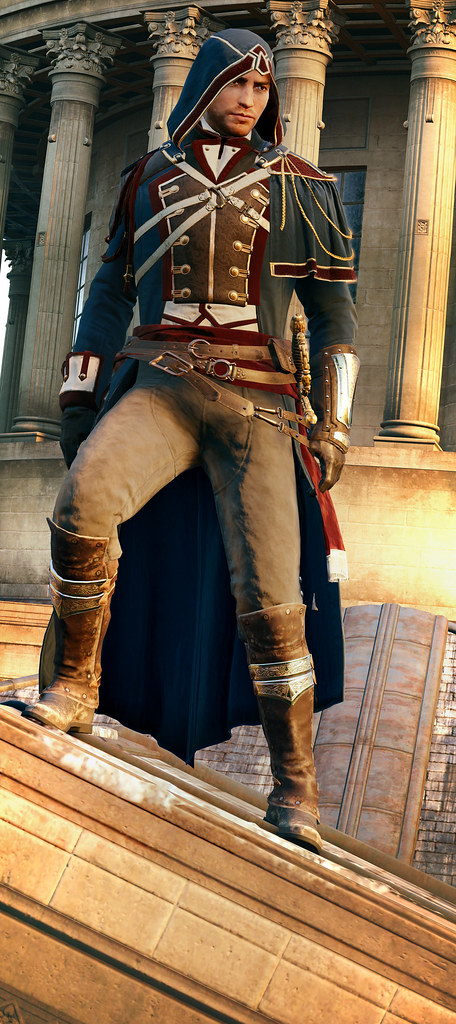 Assassin S Creed Unity Arno S Master Assassin Outfit Flickr