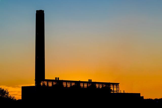 Exxon refinery at Fawley