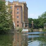 Birschel-Mühle am Ufer der Ruhr