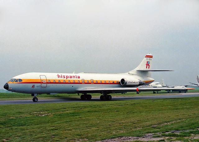 EC-DCN SE-210 Caravelle 10B Hispania