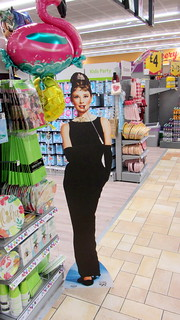 A Card Stand Of The Beautiful Audrey Hepburn By Radio Days Spotted In A Morrisons Store Glasgow Scotland