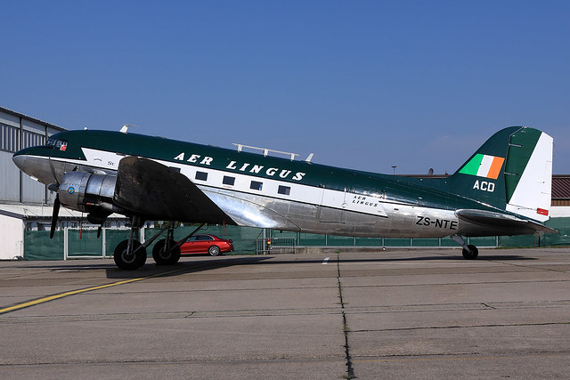 Aer Lingus  Douglas C-47A Skytrain (DC-3) ZS-NTE