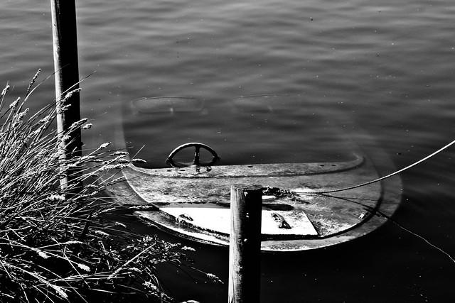 la barque engloutie