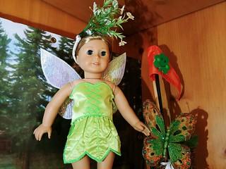 18 Inch Fairy Costume www. stitchcottage.com www. etsy.com/shop/stitchcottage   by Stitchcottage