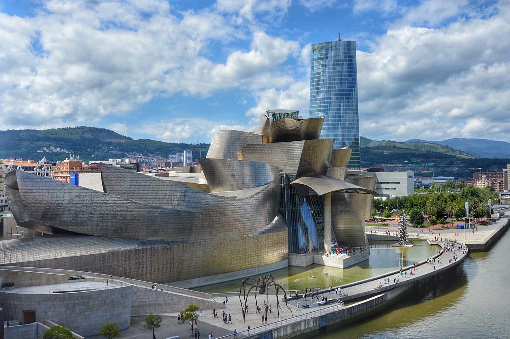 Guggenheim Museo.Museo Guggenheim Bilbao Spain Angel Alicarte Flickr