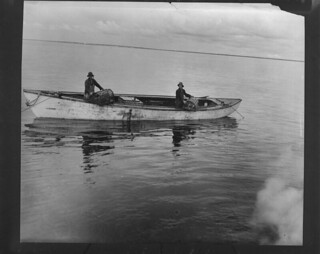Lobster fishing on the Miramichi River, New Brunswick / Pêche au homard sur la rivière Miramichi (Nouveau-Brunswick)