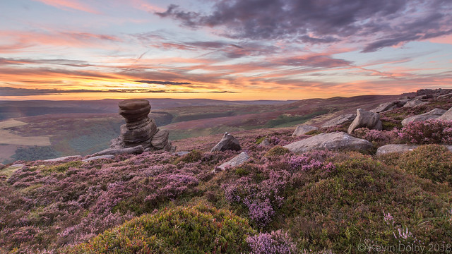 Derwent Edge Afterglow