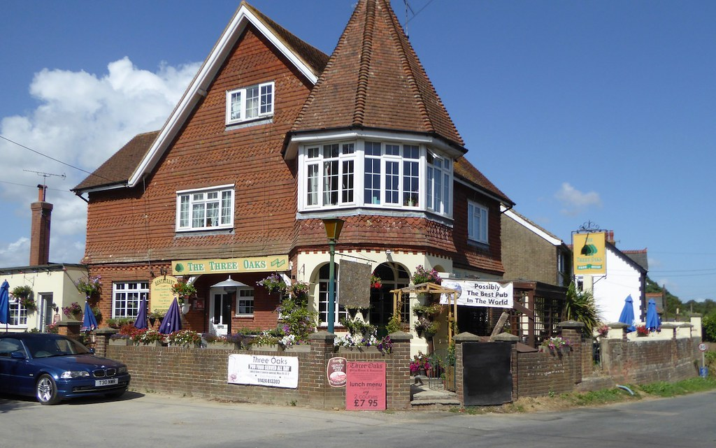 Three Oaks Inn Winchelsea to Hastings via Three Oaks walk