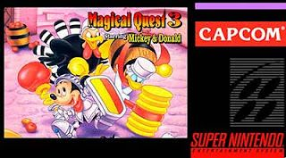 Nintendo : Emularoms: The Magical Quest 3: Starring Mickey